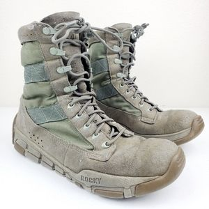 Rocky Military Tactical Boots Mens C4 Trainer Sage